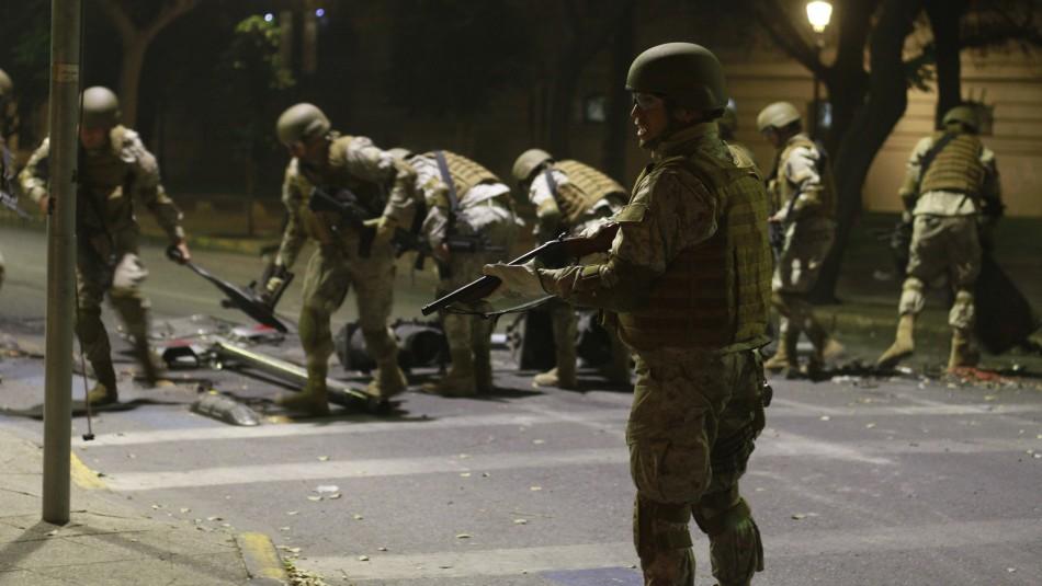 Protestas en Chile: Las cinco muertes con participación militar y policial confirmada