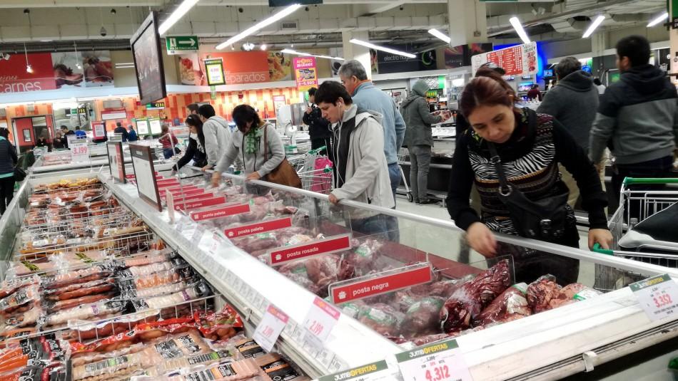 Estado de emergencia: El horario de los supermercados para este martes 22 de octubre