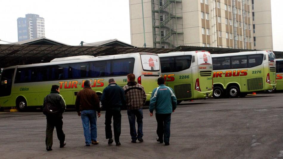 Los servicios de Turbus que se encuentran operativos este miércoles