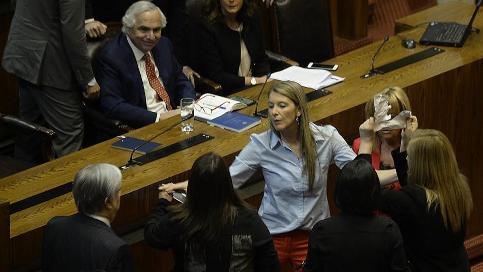 El incidente con el Ministro Andrés Chadwick.