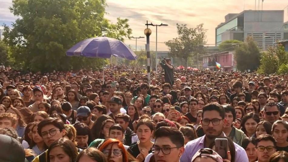 Masivas manifestaciones reunieron a miles de personas a lo largo del país