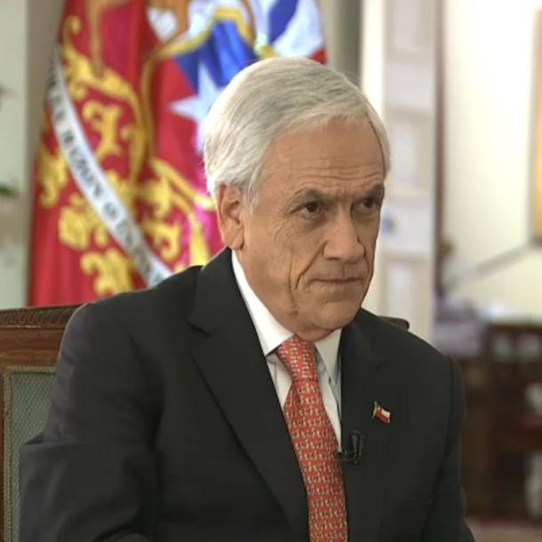 Presidente Sebastián Piñera por crisis en Chile:
