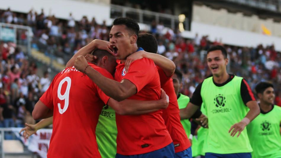 El fixture de la Selección Chilena Sub 23.