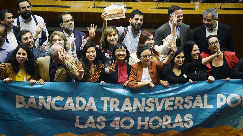Cámara de Diputados aprueba reducción de jornada laboral a 40 horas semanales