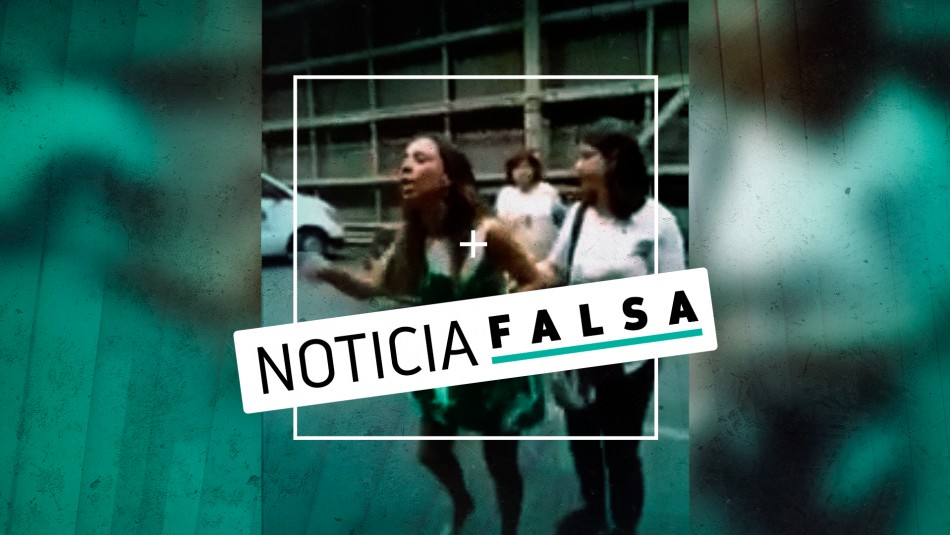 ¿Camila Flores? ¿Paulina Núñez? La verdad del video viral de una mujer que enfrenta a manifestantes