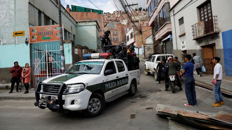 Policía boliviana pide intervención de militares para frenar la violencia en el país