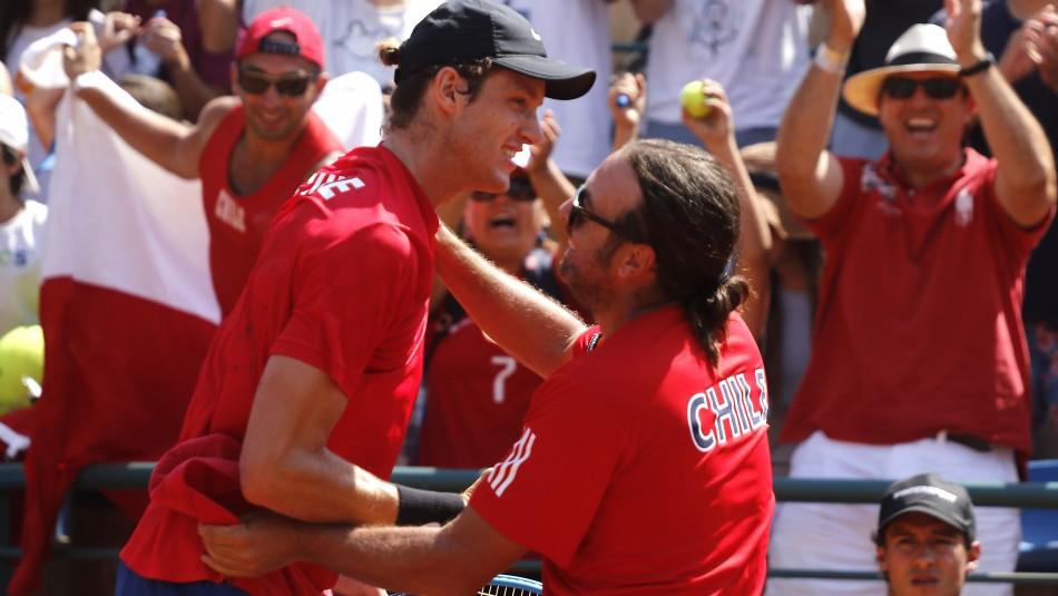 Nicolás Jarry apunta a desafío en Copa Davis.