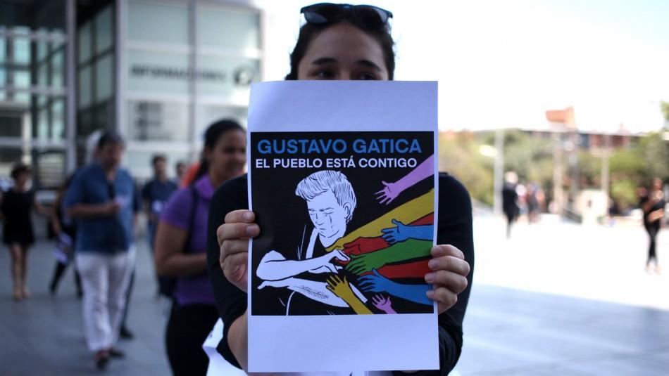 El mensaje de Gustavo Gatica mientras sigue internado: