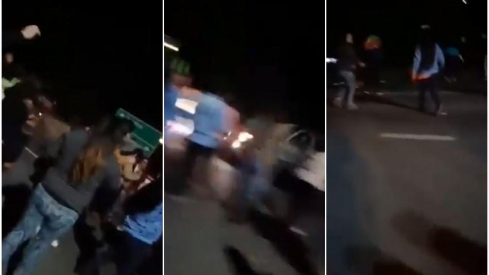 Atropello múltiple: Conductor arrolla a manifestantes en ruta que une Osorno y Puerto Octay