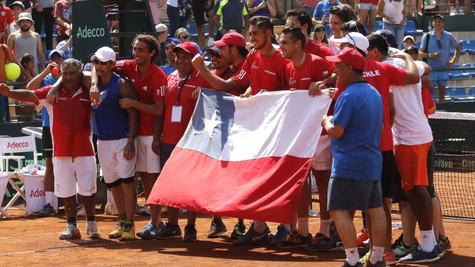 Así se juega la Copa Davis.