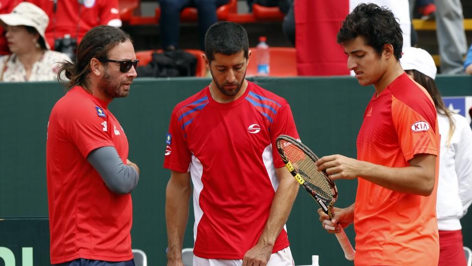 Chile apunta a la Copa Davis.