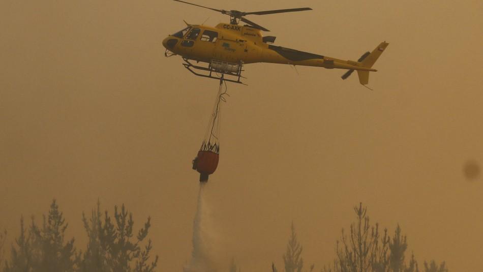 Esval realiza cortes de agua en Valparaíso para facilitar labor de bomberos