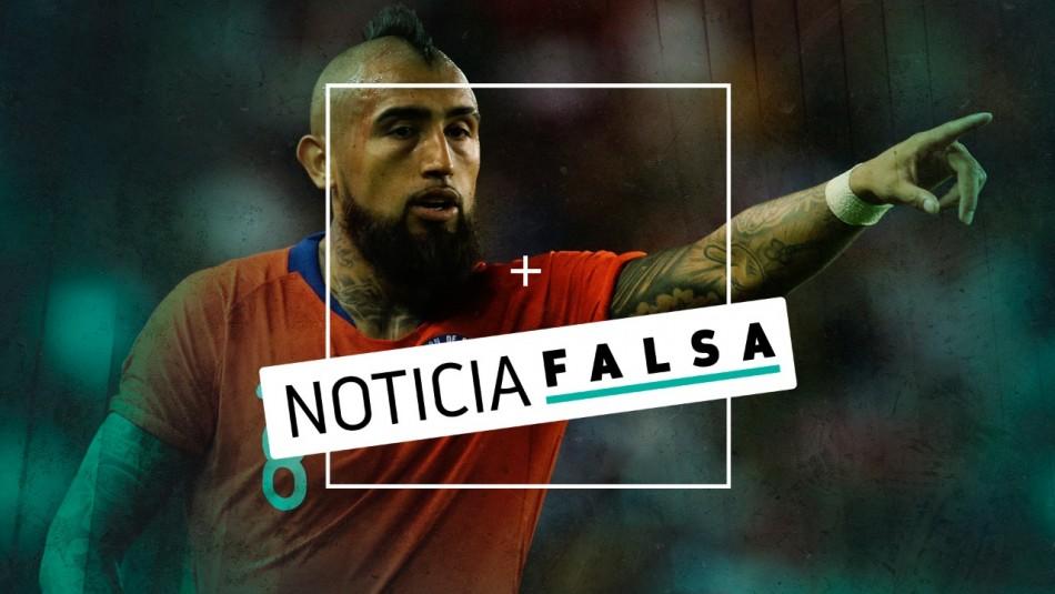 Arturo Vidal desmiente polémica frase por crisis social en Chile: