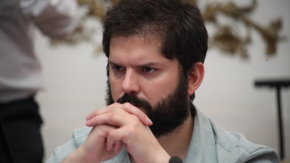 Diputado Boric por muerte de joven en Plaza Italia: