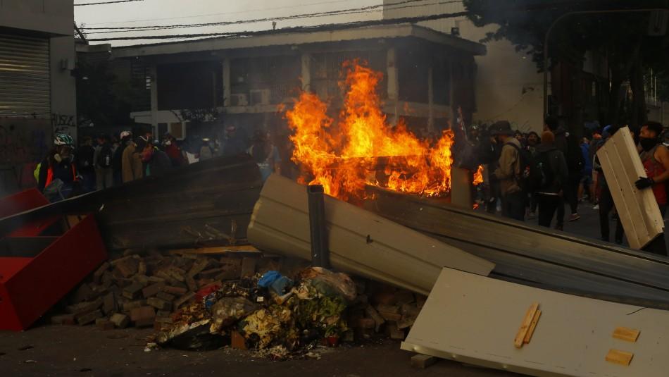 Concepción registra millonarias pérdidas tras incendios y saqueos en la ciudad