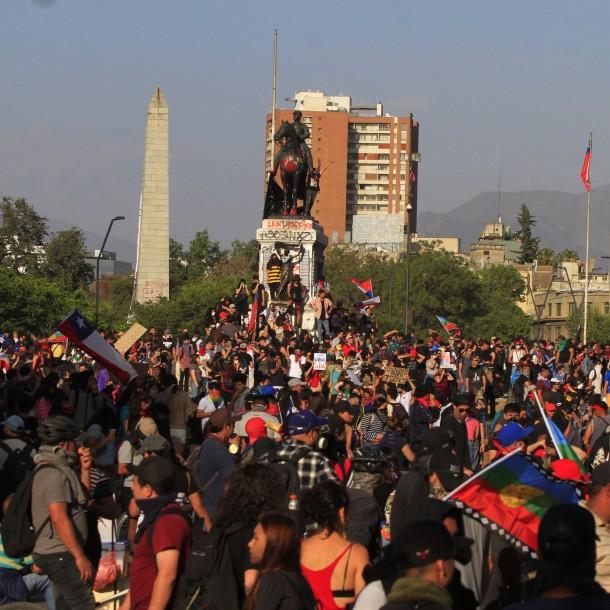 Manifestaciones en Chile: Los años de descontento social