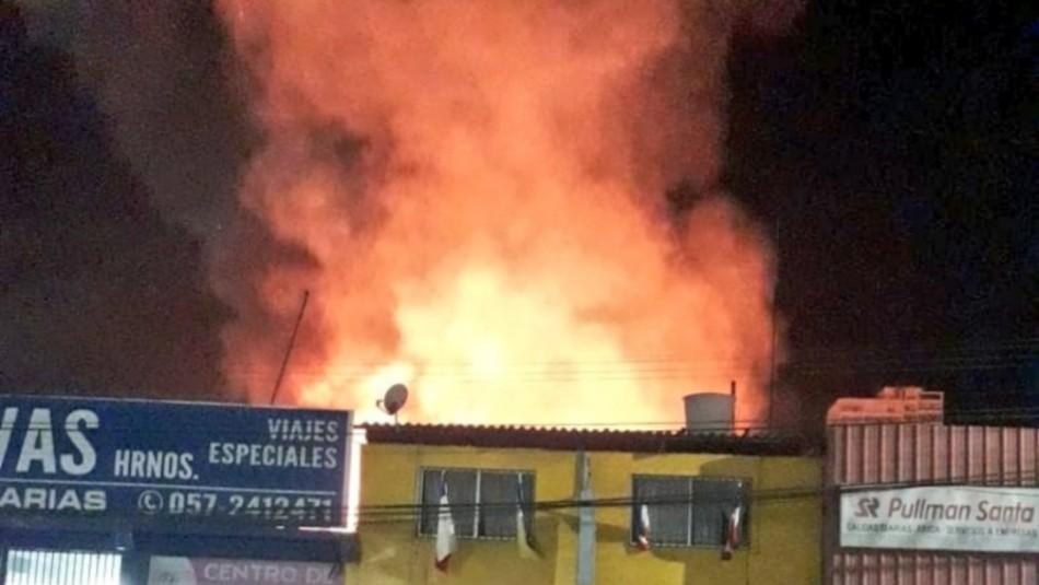 Incendio en Iquique deja dos niños y un adulto fallecidos