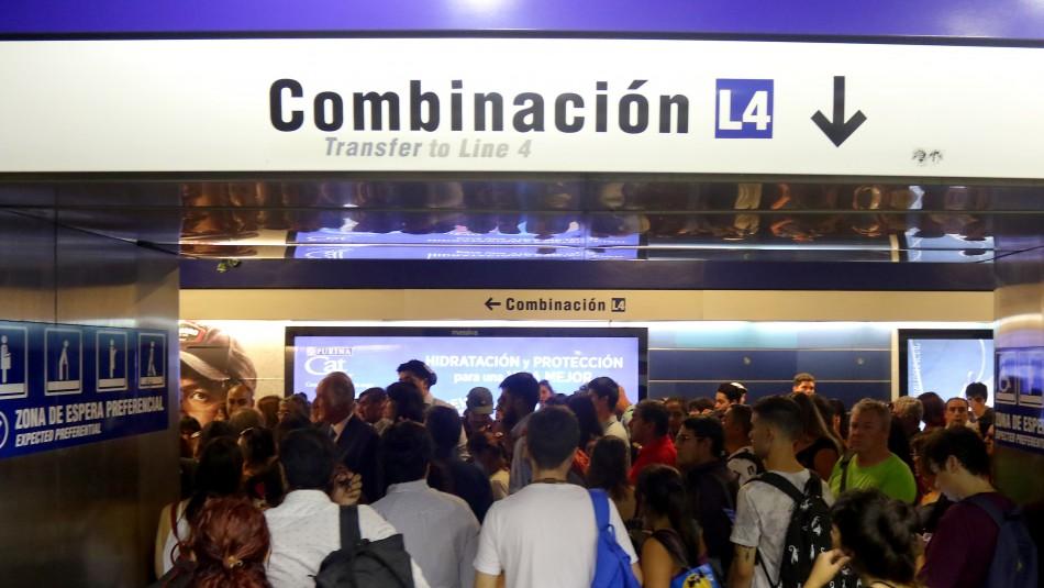 Metro de Santiago anuncia horario de operaciones con nuevas estaciones para este lunes 18 de noviembre