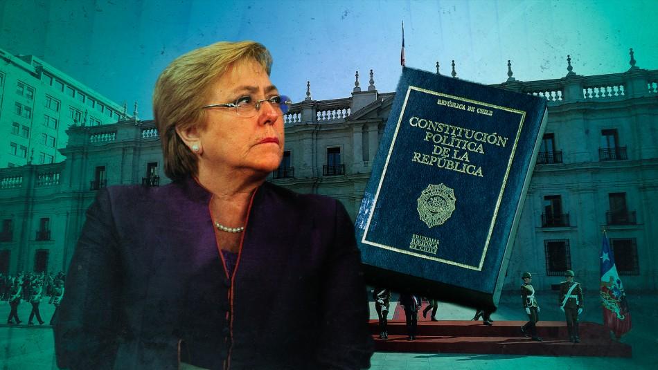 Esta es la reforma constitucional que presentó Bachelet en su segundo gobierno