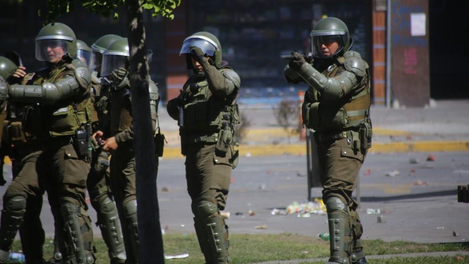 Corte de Rancagua ordena a Carabineros no usar balines en manifestaciones pacíficas
