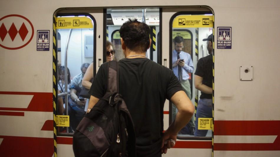Metro de Santiago: Las estaciones cerradas temporalmente por el tren subterráneo