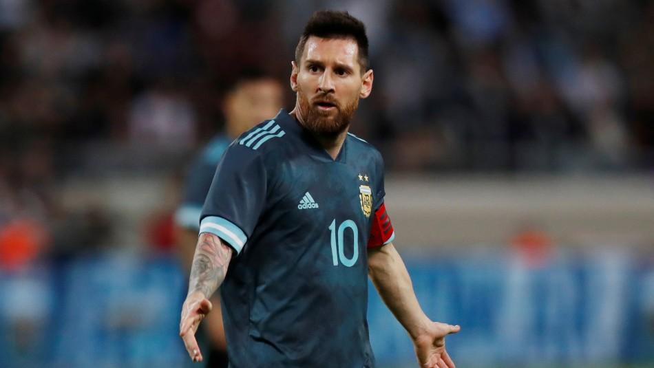 ¿Amistoso Argentina-Uruguay? Cavani
