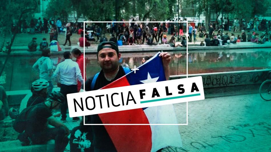 Desmienten carta de supuesto hermano de joven que sufrió infarto en Plaza Italia
