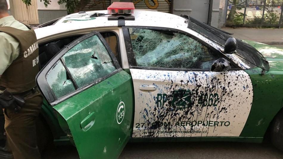 Carabinero resulta herido tras ataque a patrulla en Barrio Bellavista