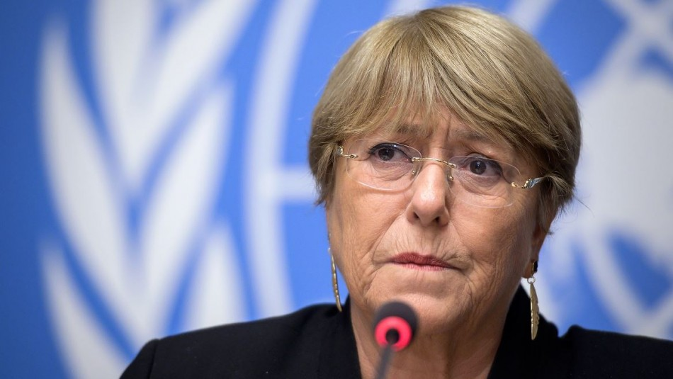 Bachelet hace un llamado a