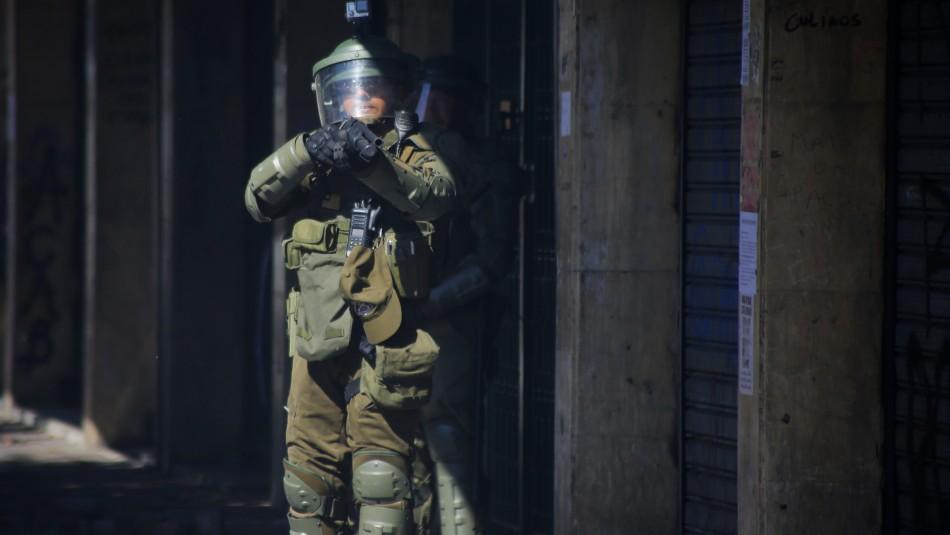 U. de Chile y perdigones de Carabineros: Equivalen