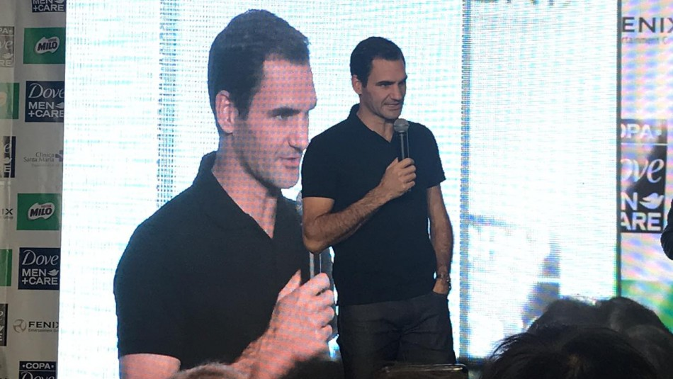 A fondo con Roger Federer: Confiesa quién es su jugador favorito, sueños y qué conoce de Chile