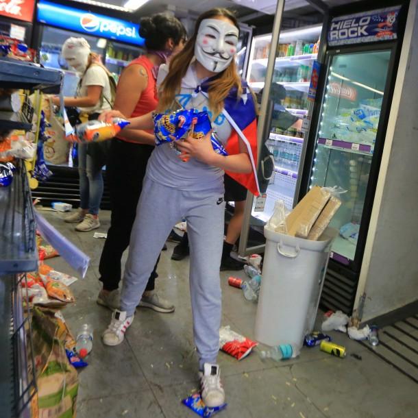 Saqueos: La radiografía a los atacantes de locales comerciales