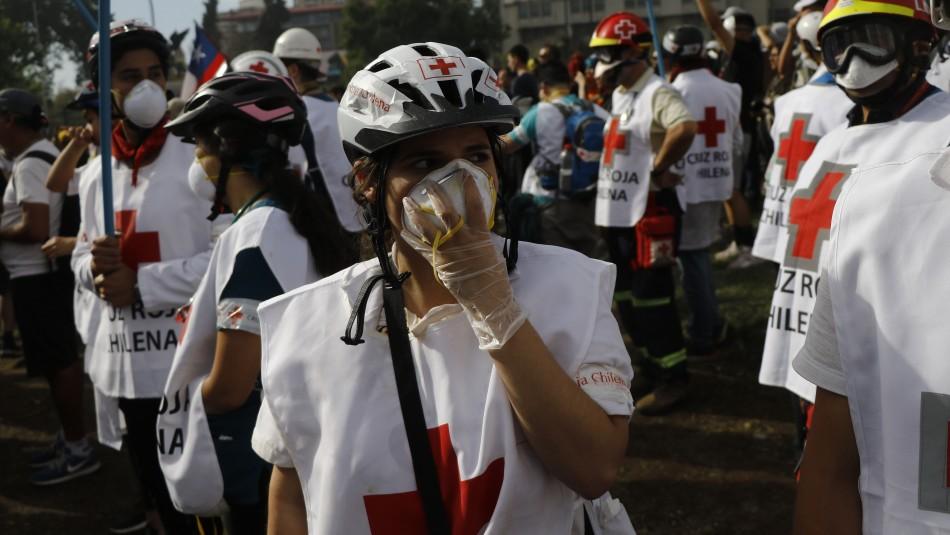 Protocolo zona cero: ¿Cómo debe actuar Carabineros durante urgencias médicas en manifestaciones?