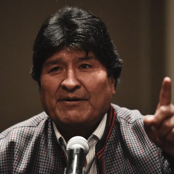 Evo Morales pide ayuda internacional para frenar el