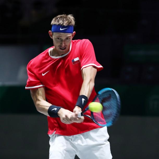 Sigue a Nicolás Jarry ante Philipp Kohlschreiber por la serie Chile vs. Alemania en Copa Davis