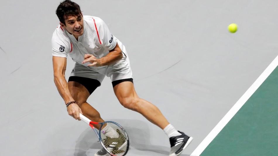 Cristian Garin vence en emotivo partido a Struff y logra igualar la serie ante Alemania en Copa Davis