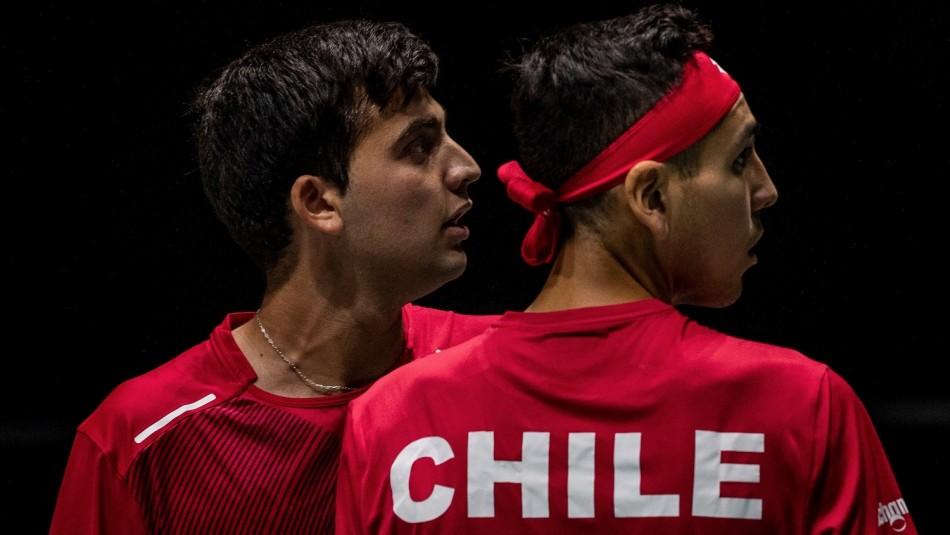 Chile dice adiós a Copa Davis: Cae en dobles ante Alemania con gran actuación de dupla Tabilo-Barrios
