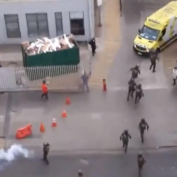 Corte acoge recurso y declara ilegal el actuar de Carabineros en Hospital Gustavo Fricke
