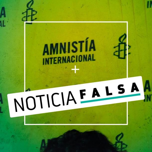Amnistía Chile desmiente haber compartido llamado de apoyo a una huelga nacional