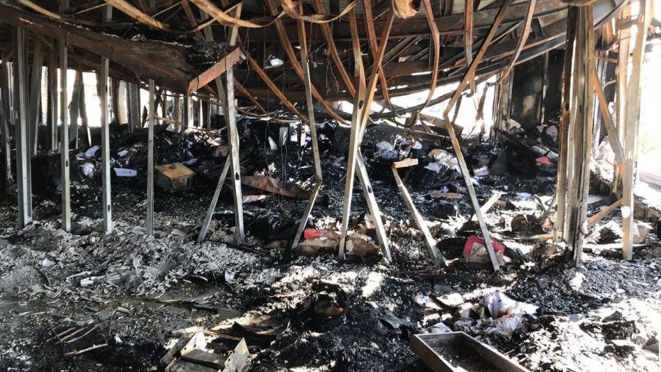 Dependencias de Hospital de Coquimbo fueron saqueadas y luego incendiadas