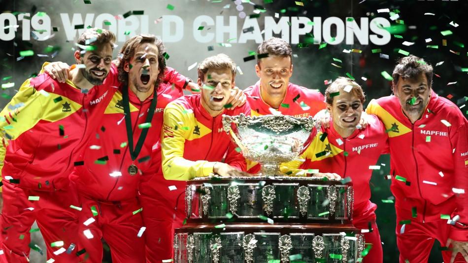 España se corona campeón de la Copa Davis por sexta vez tras vencer a Canadá