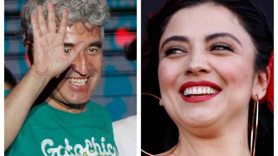 Jorge González se cuadra con Mon Laferte: