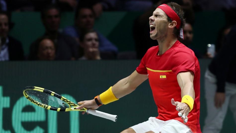 Rafa Nadal llora con palabras de Roberto Bautista que sufrió la muerte de su padre en plena Copa Davis