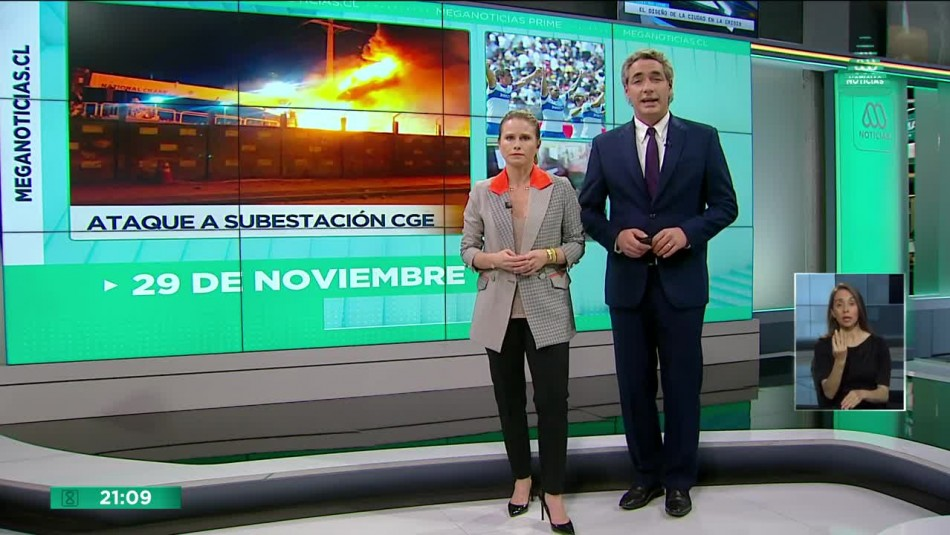 Meganoticias Prime - Viernes 29 de noviembre 2019