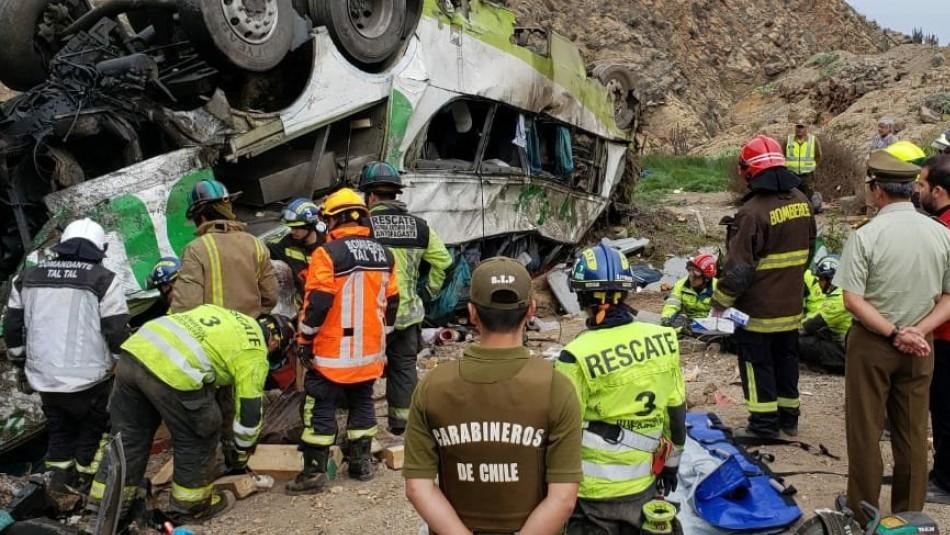 Sobreviviente de accidente en Taltal: