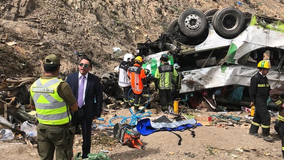 Accidente de bus en Taltal: Suben a 21 las víctimas fatales