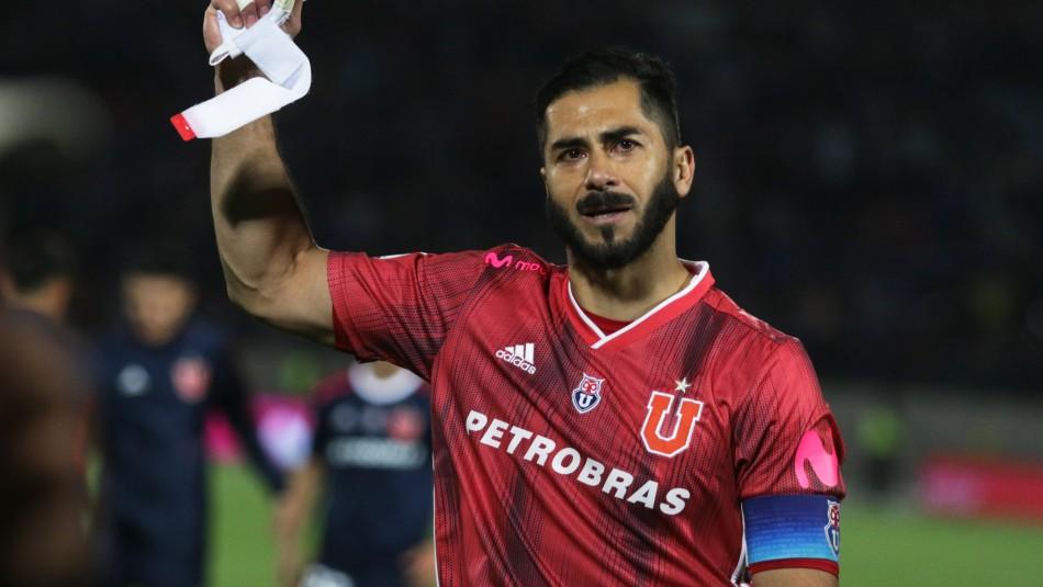 Confirman que Johnny Herrera no seguirá en Universidad de Chile