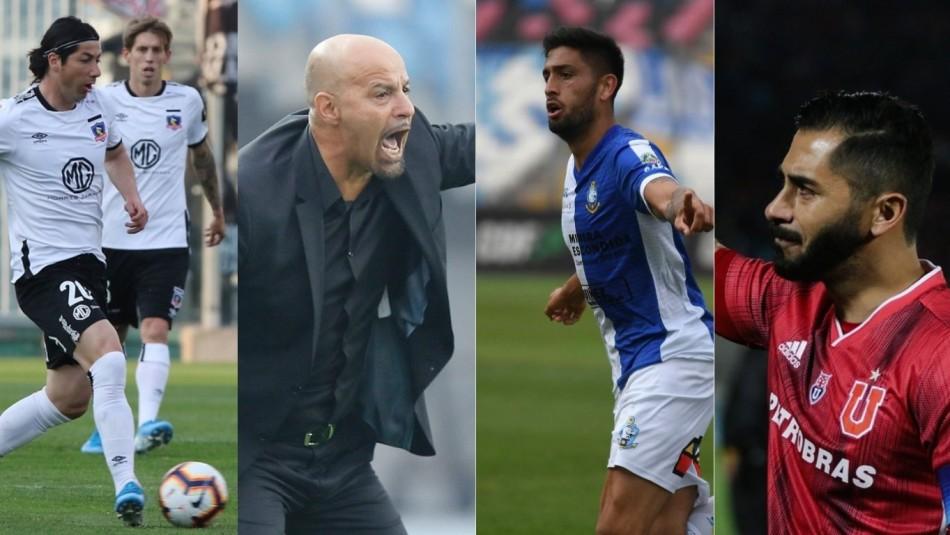 Johnny Herrera, Jaime Valdés y cambios de técnicos: Las 11 movidas del fútbol chileno