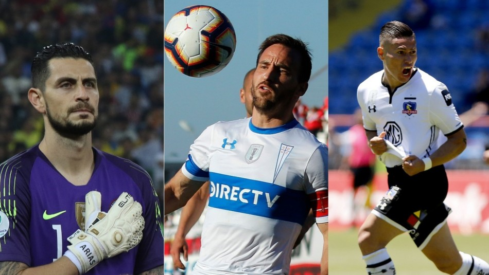 Tres chilenos candidatos al equipo ideal de América.