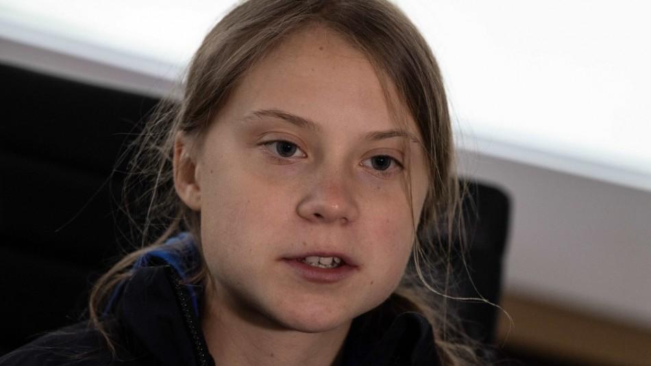 Greta Thunberg responde a críticas por viaje en tren contaminante